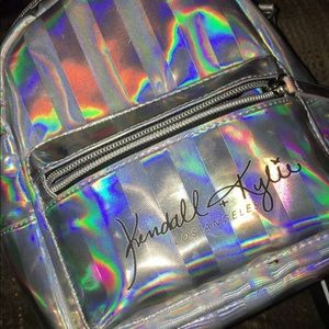 kendall and kyle iridescent silver